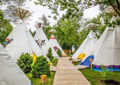 Tipi obóz 2