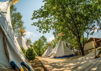 Tipi obóz